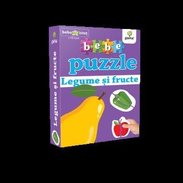 Legume si fructe - Bebe puzzle (Gama)
