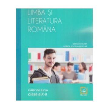 Limba si literatura romana clasa a X-a (Booklet)