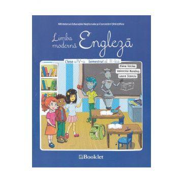 Limba engleza - manual clasa a IV-a, sem 2 + CD (Booklet)