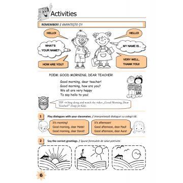 Limba engleză pentru clasa 1 (Elicart)