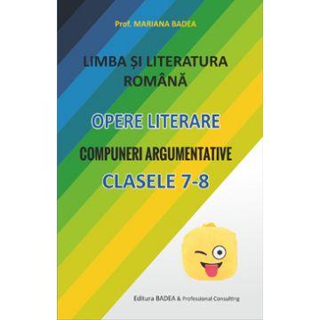 Literatura romana clasele VII-VIII (Badea)