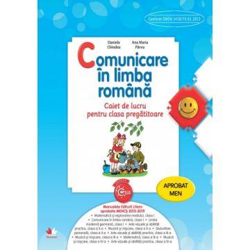 Comunicare în limba română. Caiet de lucru pentru clasa pregătitoare (Litera)