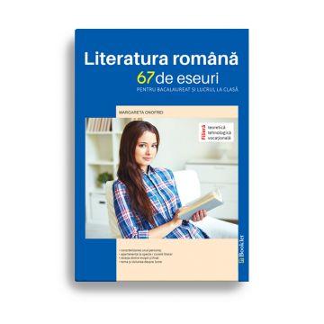 Literatura romana - Eseuri pentru clasele IX-XII (Booklet)