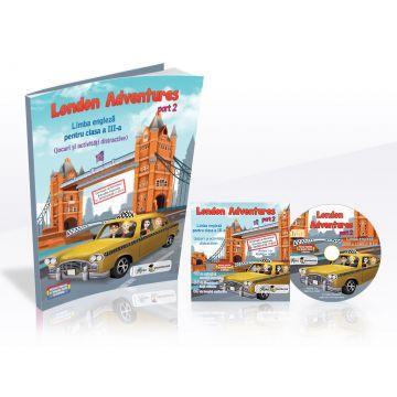 London Adventures - Limba engleză pentru clasa a III-a (partea a II-a).