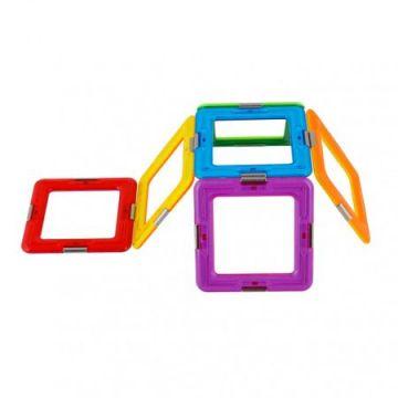 Magspace 10 Piese - Square Set - Joc Magnetic Educativ de Constructie 3D