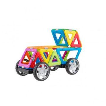 Magspace 25 Piese - Mini Karting Set - Joc Magnetic Educativ de Constructie 3D