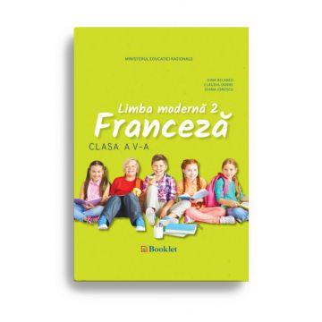Manual limba moderna 2 – Limba Franceza pentru clasa a V-a (Booklet)