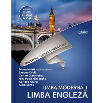 Limba engleza L1- Manual pentru clasa a V-a + CD (Corint)