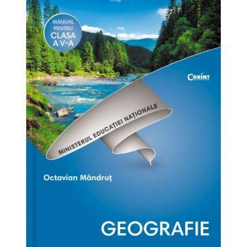 Manual. Clasa a V-a. Geografie (Corint)