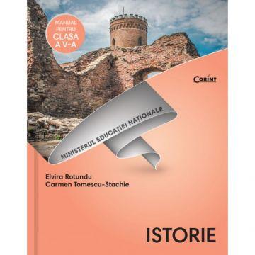Istorie - Manual pentru clasa a V-a Rotundu + CD