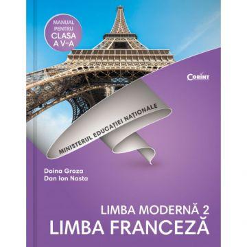 Limba franceza L2- Manual pentru clasa a V-a + CD (Corint)