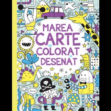 Marea carte de colorat și desenat (Litera)