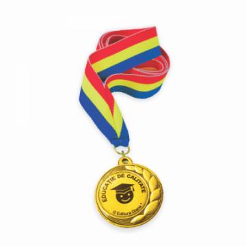 Medalie cu snur tricolor