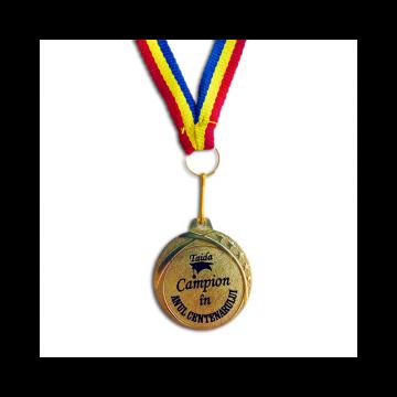 Medalie premiere 2018 - Campion in anul centenarului