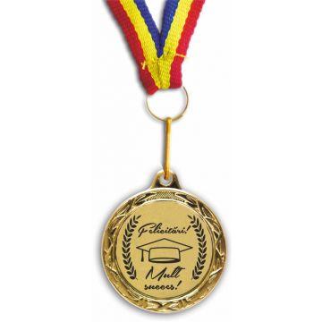 Medalie premiere Felicitari! Mult succes!