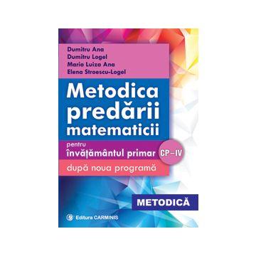Metodica predarii matematicii pentru invatamantul primar (dupa noua programa)