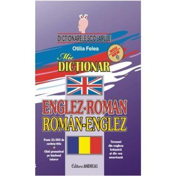 Dictionar dublu englez-roman roman-englez