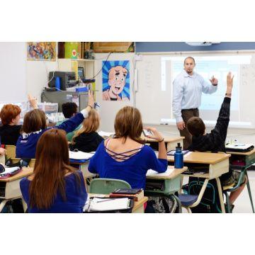 Pachet interactiv Mimio Teach Wireles 180x120 cm și videoproiector Epson X 31