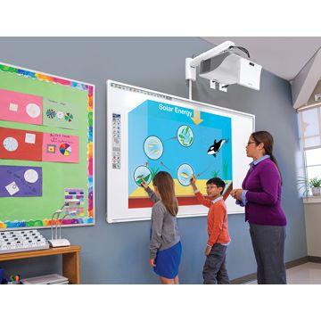 Pachet Interactiv EDUCATIONAL Tabla interactiva Mimio 871T + Videoproiector Epson de apropiere