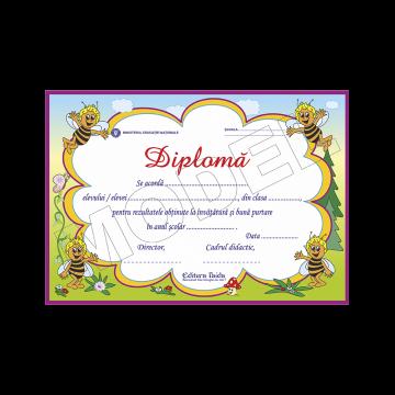 DIPLOMA SCOLARA MODEL 4.1