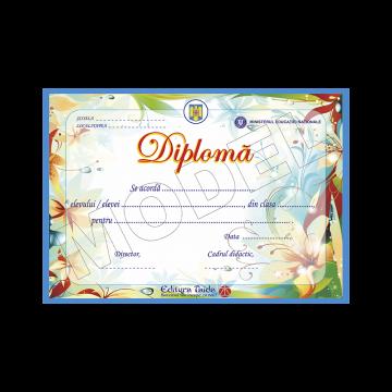 DIPLOMA SCOLARA MODEL 7 2019