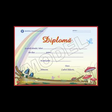 DIPLOMA SCOLARA MODEL 8 2019