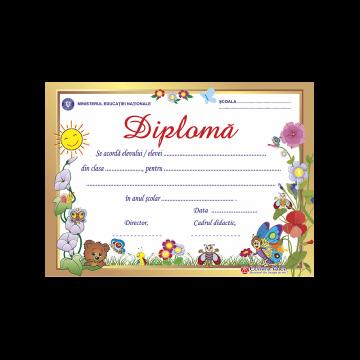 DIPLOMA SCOLARA MODEL 9 2019