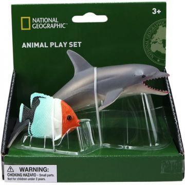 National Geographic Set 2 figurine - Delfin si Peste