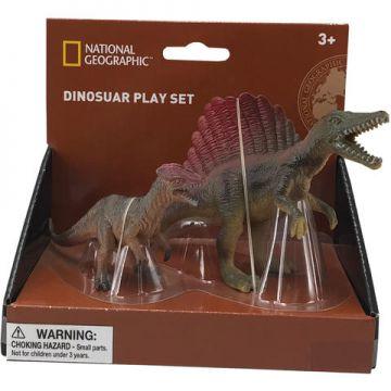 National Geographic Set 2 figurine - Spinosaurus si Dilophosaurus