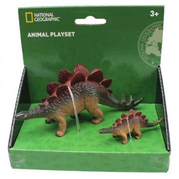 National Geographic Set 2 figurine - Stegosaurus