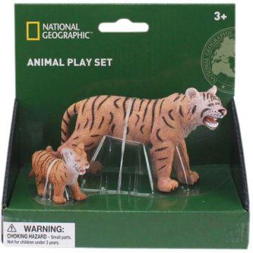 National Geographic Set 2 figurine - Tigrul si puiul