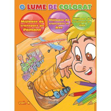 O lume de colorat vol. 4 (Aquila)