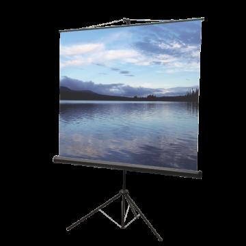 Ecran de proiectie cu trepied Ligra 150 x 150
