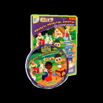 PitiClic Povesti, povestiri, amintiri- Ion Creanga Interactiv (CD-ROM) 3-7 ani