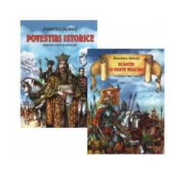 Pachet 2 carti Povestiri istorice Dumitru Almas (Nicol)
