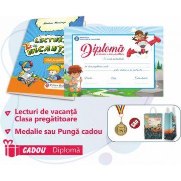 PACHET 2 PREMIERE CLASA PREGATITOARE - LECTURI DE VACANTA + MEDALIE (DIPLOMA CADOU)