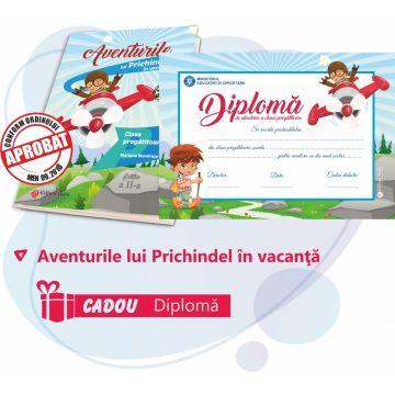 Aventurile lui Prichindel in vacanta - clasa pregatitoare (DIPLOMA cadou)