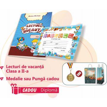 PACHET 2 PREMIERE CLASA A II-A - LECTURI DE VACANTA + MEDALIE (DIPLOMA CADOU)