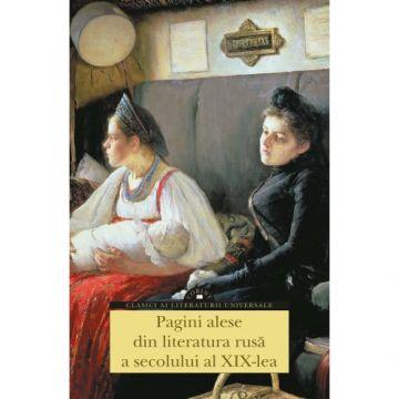 Pagini alese din literatura rusa a secolului al XIX-lea (Corint)