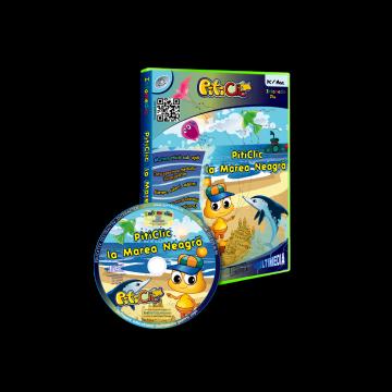 PitiClic la Marea Neagra (CD-ROM) 3-7 ani