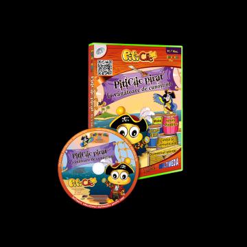 PitiClic pirat la vanatoare de cunostinte! (CD-ROM) 3-7 ani
