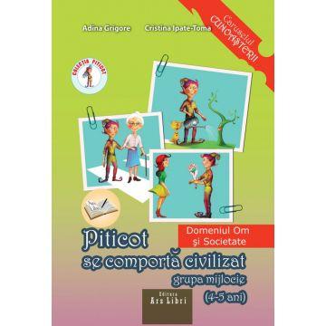 Piticot se comporta civilizat 4-5 ani