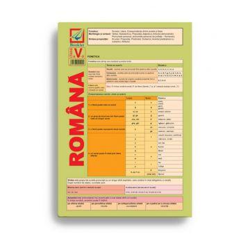 Pliant de limba română pentru clasa a V-a (Booklet)