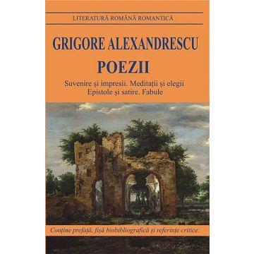 Poezii- GRIGORE ALEXANDRESCU (Cartex)