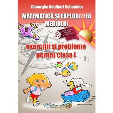 Matematica si explorarea mediului - exercitii si probleme pentru clasa I (Hyperion)