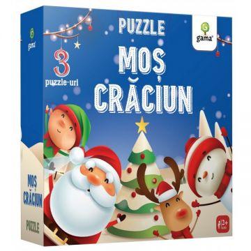 Mos Craciun- PUZZLE EDUCATIV (GAMA)
