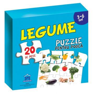 Puzzle pentru podea - Legume - 3-6 ANI (DPH)