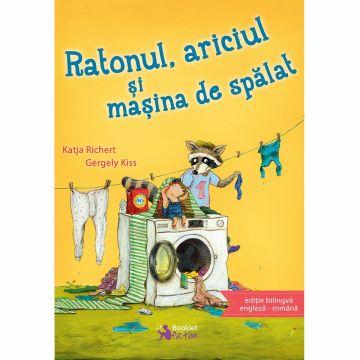 Ratonul, ariciul si masina de spalat, editie bilingva engleza-romana (Booklet Fiction)