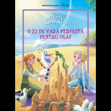 Regatul de gheață. O zi de vară perfectă pentru Olaf. Carte gigant (grupa mijlocie) (Litera)
