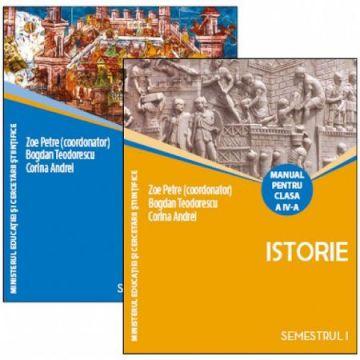 MANUAL CLASA A IV-A - ISTORIE + CD - 2 VOLUME (Corint)